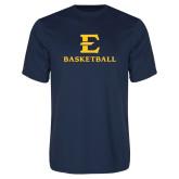 Syntrel Performance Navy Tee-E Basketball