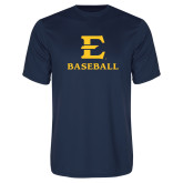 Performance Navy Tee-E Baseball