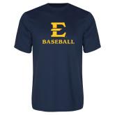 Syntrel Performance Navy Tee-E Baseball