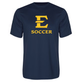 Performance Navy Tee-E Soccer