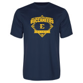 Performance Navy Tee-Softball Field