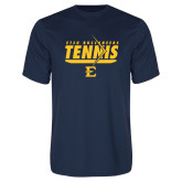 Performance Navy Tee-Tennis Arrow