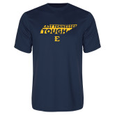 Performance Navy Tee-East Tennessee Tough State