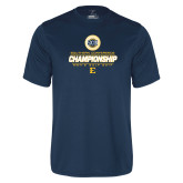 Syntrel Performance Navy Tee-Southern Conference Championship - Mens Golf 2017