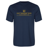 Syntrel Performance Navy Tee-East Tennessee University - Institutional Mark