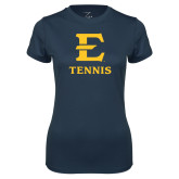 Ladies Syntrel Performance Navy Tee-E Tennis
