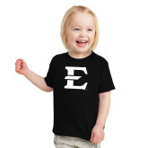 Toddler Black T Shirt-E - Offical Logo