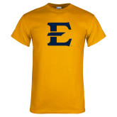 Gold T Shirt-E - Offical Logo