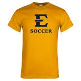 Gold T Shirt-E Soccer