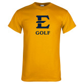 Gold T Shirt-E Golf