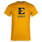 Gold T Shirt-E Golf