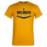 Gold T Shirt-Baseball Plate Design