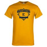Gold T Shirt-Softball Field