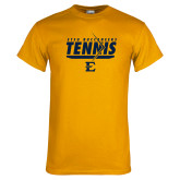 Gold T Shirt-Tennis Arrow
