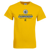 Gold T Shirt-Southern Conference Championship - Mens Golf 2017