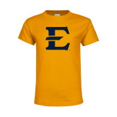 Youth Gold T Shirt-E - Offical Logo