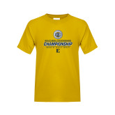 Youth Gold T Shirt-Southern Conference Championship - Mens Golf 2017