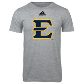Adidas Sport Grey Logo T Shirt-E - Offical Logo