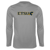 Performance Steel Longsleeve Shirt-ETSU w/ Buccaneer Head
