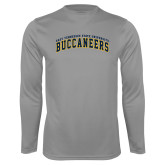 Performance Steel Longsleeve Shirt-Arched East Tennessee University Buccaneers