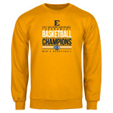 Gold Fleece Crew-2017 Southern Conference Tournament Mens Basketball Champions Stacked