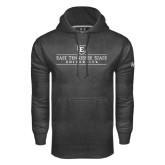 Under Armour Carbon Performance Sweats Team Hoodie-East Tennessee University - Institutional Mark