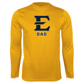 Syntrel Performance Gold Longsleeve Shirt-Dad