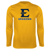 Performance Gold Longsleeve Shirt-Grandma