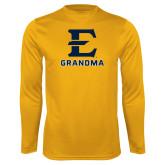 Syntrel Performance Gold Longsleeve Shirt-Grandma