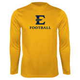 Performance Gold Longsleeve Shirt-E Football