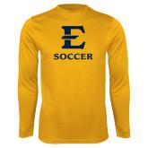 Syntrel Performance Gold Longsleeve Shirt-E Soccer