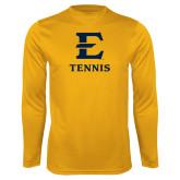 Syntrel Performance Gold Longsleeve Shirt-E Tennis