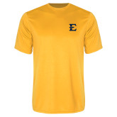 Performance Gold Tee-E - Offical Logo
