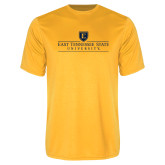Syntrel Performance Gold Tee-East Tennessee University - Institutional Mark