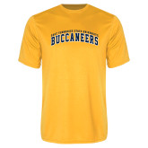 Performance Gold Tee-Arched East Tennessee University Buccaneers