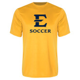Performance Gold Tee-E Soccer