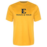 Performance Gold Tee-E Track and Field