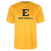 Performance Gold Tee-E Softball