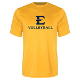 Performance Gold Tee-E Volleyball