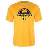 Syntrel Performance Gold Tee-Soccer Design
