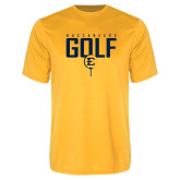 Syntrel Performance Gold Tee-Golf Tee Design