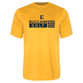 Performance Gold Tee-Golf Flag Design