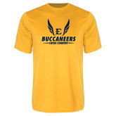 Performance Gold Tee-Cross Country Wings