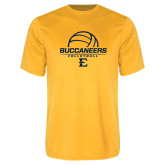 Performance Gold Tee-Volleyball on Top