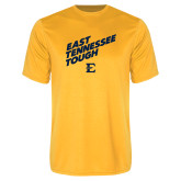 Performance Gold Tee-East Tennessee Tough Slant