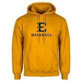 Gold Fleece Hoodie-E Baseball
