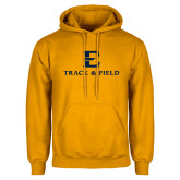 Gold Fleece Hoodie-E Track and Field