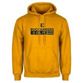 Gold Fleece Hoodie-Golf Flag Design