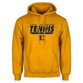 Gold Fleece Hoodie-Tennis Arrow