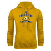 Gold Fleece Hoodie-2017 Southern Conference Championship - Mens Golf